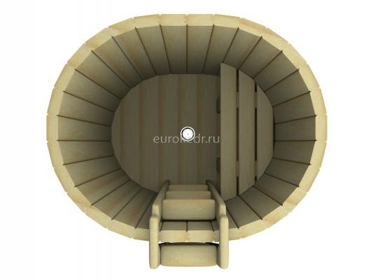 Купель овальная 1200x1000x780 мм