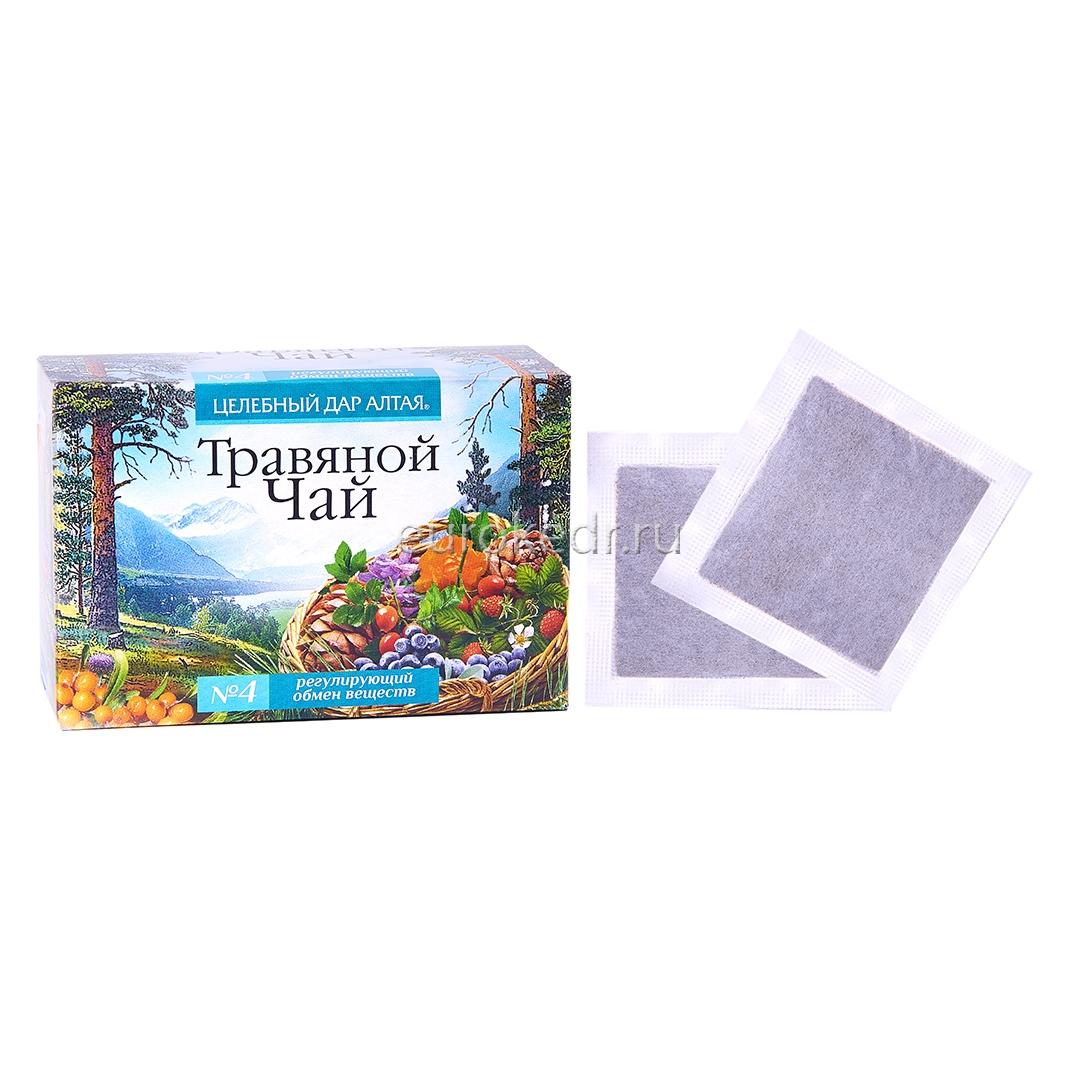 """Травяной чай """"Дар Алтая"""" сбор №4"""