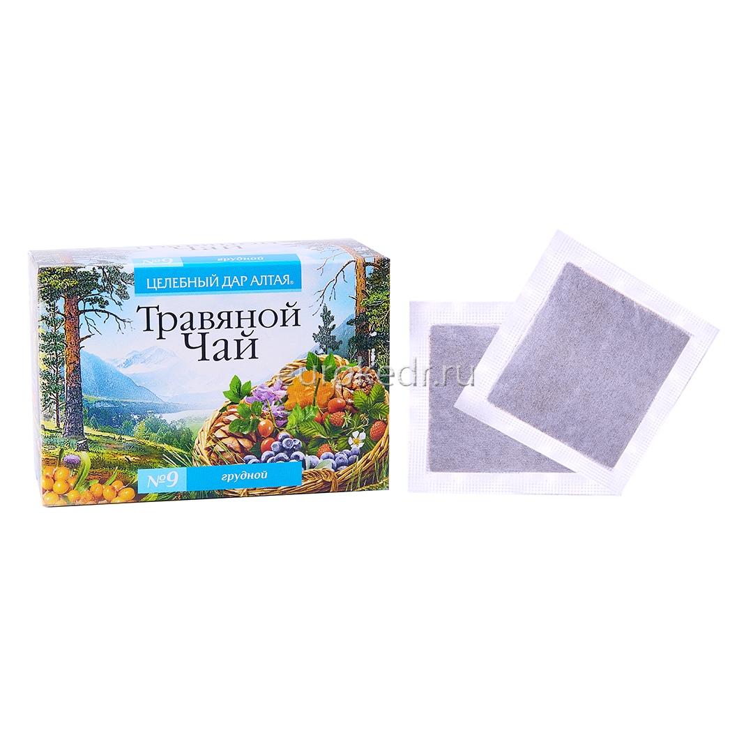 """Травяной чай """"Дар Алтая"""" сбор №9"""