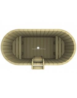 Купель овальная 1200x1700x780 мм